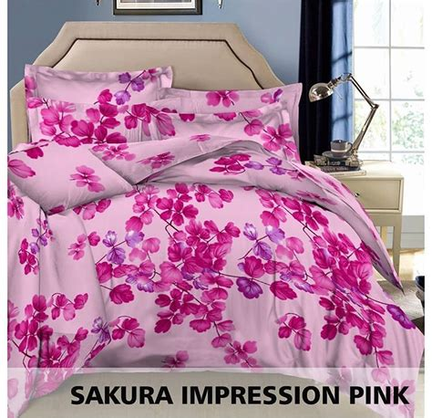 Sprei Impression Nirvana Uk 120 detail produk sprei dan bedcover impression pink