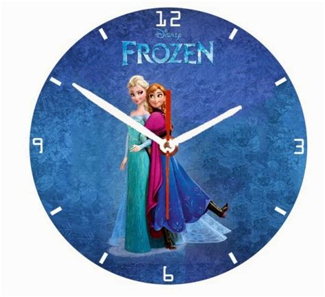 Jd 009 Jam Custom Princess Sofia jual jam dinding unik gambar karakter bisa pesan custom seri kartun anak perempuan