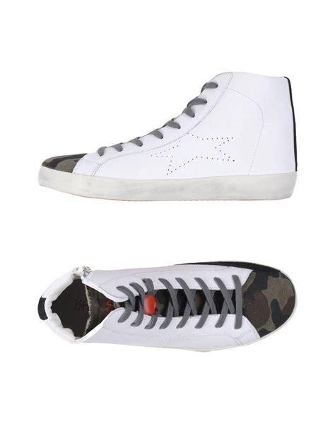 Jimshoney Jh Stella Wallet lyst ishikawa high tops sneakers in white for