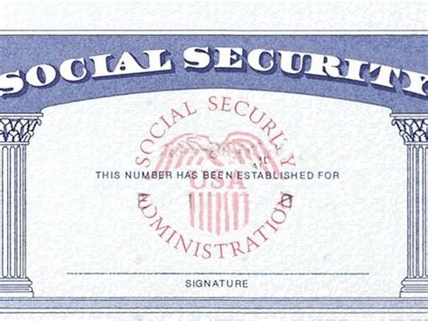 blank social security card template don t miss these critical retirement milestones