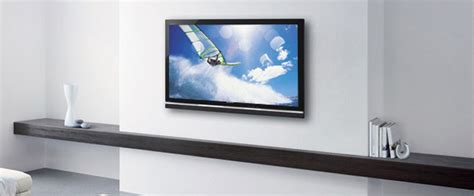 Wall Tv by Wall Or Ceiling Mounting Flatscreen Tv S