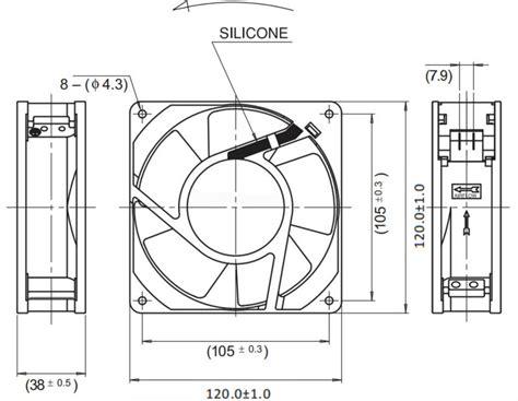 Ac Axial Blower Fan 120x120x38 4 axial fan 220v ac 12038 axial flow fan 120x120x38 buy