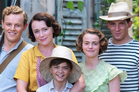 keeley hawes the durrells children are revolting and i
