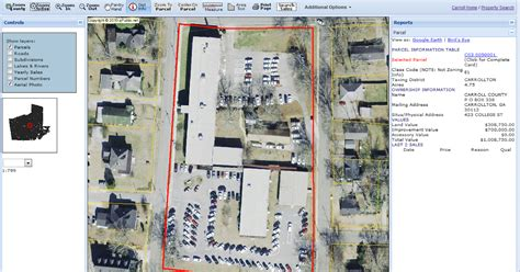 Carroll County Judiciary Search Carroll County Tax Assessor Adds New Map Interface Aerial Photography To