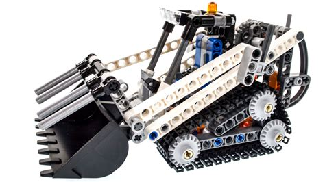 Lego Technic 42032 Compact Tracked Loader lego technic 42032 review build unboxing compact tracked loader