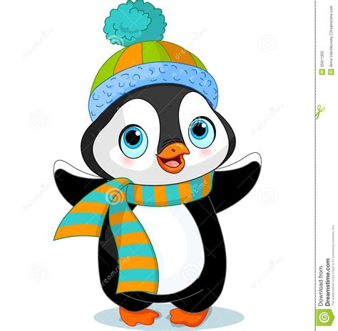 Winter Hat And Scarf Clipart