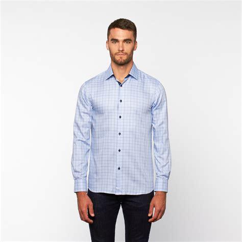 light blue button up shirt button up shirt light blue plaid s dolce guava