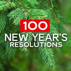 100 new years resolutions resources to help stick with