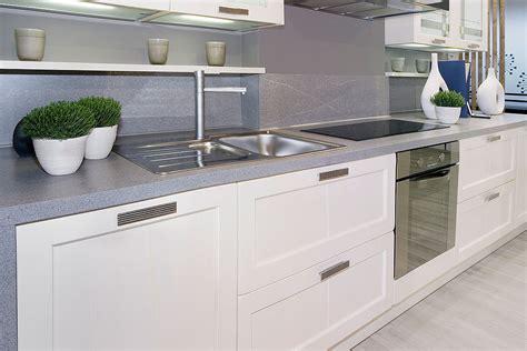 White Kitchen Island With Granite Top grey benchtop kitchen winda 7 furniture