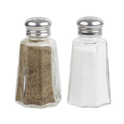 how to go from salt and pepper to all white hair 2 oz mushroom top salt and pepper shaker 4 pack