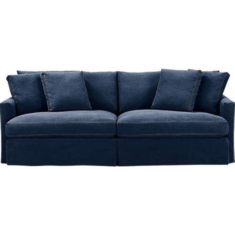 1000 ideas about denim sofa on navy sofa