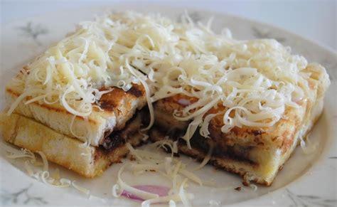 cara membuat roti bakar tanpa mentega home made is the best roti bakar pisang keju coklat