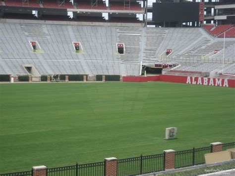 bryant denny stadium student section bryant denny stadium section dd rateyourseats com