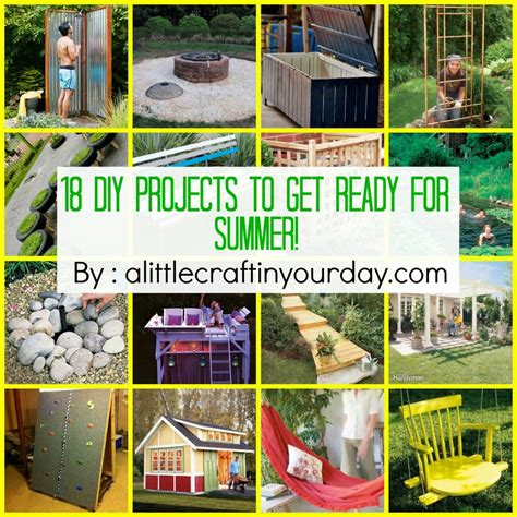 diy summer craft projects 18 diy projects to get ready for summer a craft