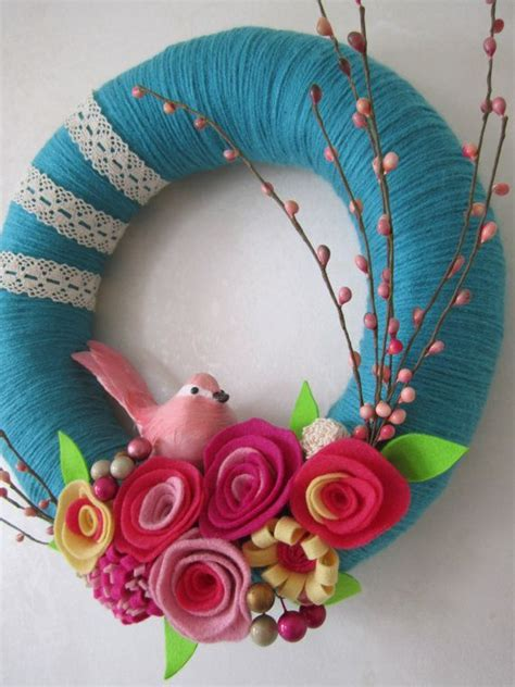 spring wreath ideas to make diy spring wreath ideas 2015