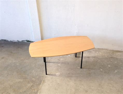 boat shaped florence knoll coffee table for sale at 1stdibs