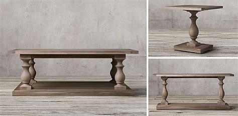 restoration hardware 17 c monastery table rh sofa table energywarden