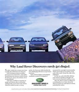 2000 land rover discovery ad classic cars today