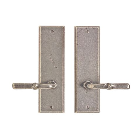 Rectangular Passage Set 3 Quot X 10 Quot Passage Spring Latch Interior Door Hardware Sets