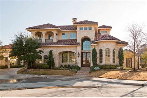 mediterranean villa house plans our home design quot villa madrid quot mediterranean exterior