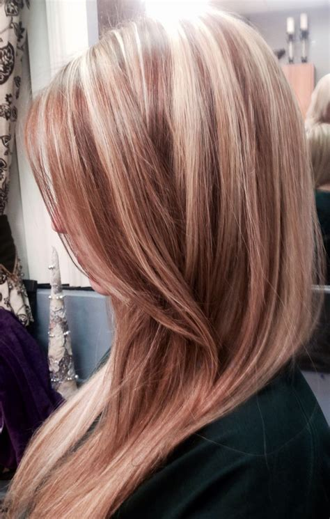 long blonde hair with dark low lights 17 best images about hair color on pinterest strawberry