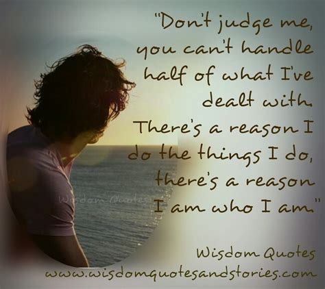 Beateight Only Goo Can Jugde You don t judge me wisdom quotes stories