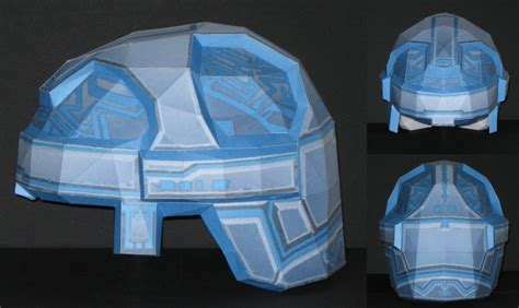 Papercraft Helmet - size helmet papercraft jpg