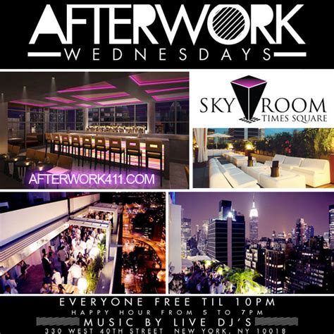 sky room times square the wednesday after work rooftop nyc sky room rooftop nyc tickets dates