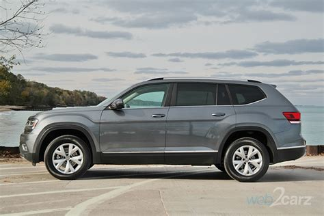 volkswagen atlas sel 2018 volkswagen atlas v6 sel 4motion review web2carz