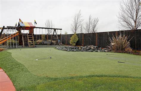 golf backyard putting green ideas designing idea