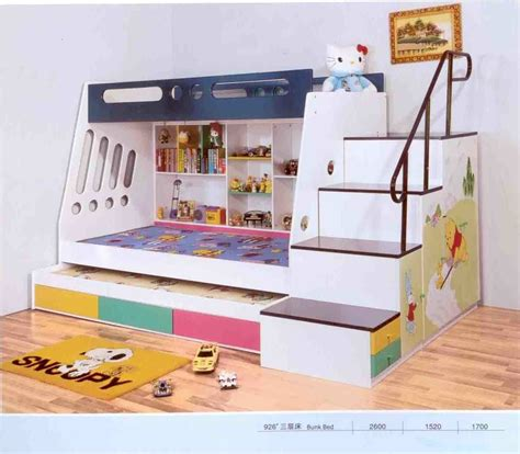 Bedroom Cheap Bunk Beds With Stairs Cool For Kids Water Cool Bedrooms With Bunk Beds