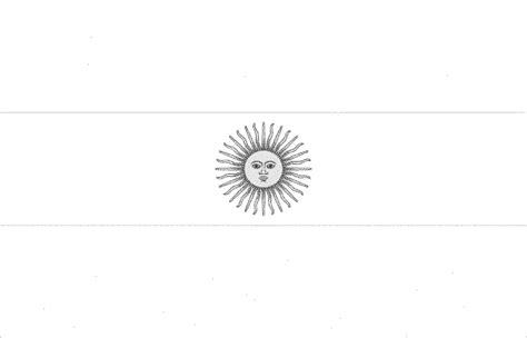 bandera de argentina para colorear para imprimir gratis bandera de argentina para colorear