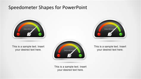 Animated Dashboard Speedometer Template For Powerpoint Slidemodel Speedometer Powerpoint Template