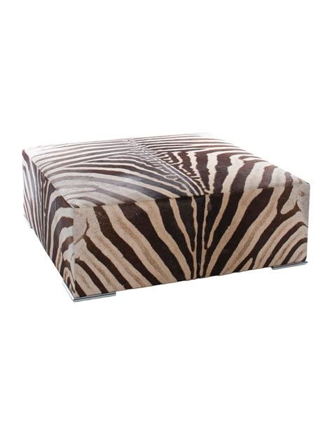 brown zebra ottoman 17 best images about modern ottomans poufs on pinterest