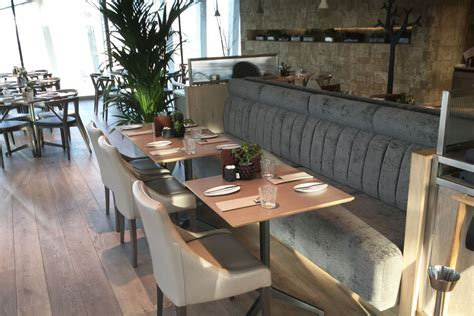 banquette seating banquette seating for sky garden london fitz impressions