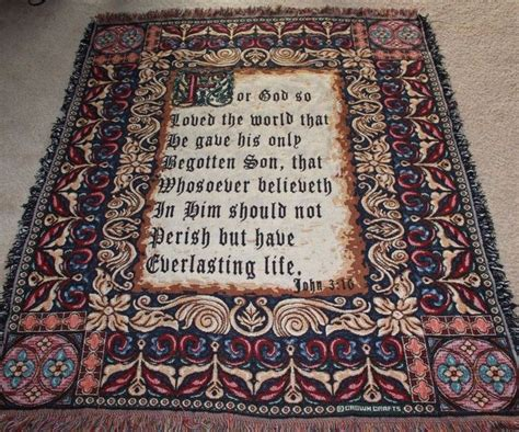 john 3 16 religious christian quot for god so loved quot throw