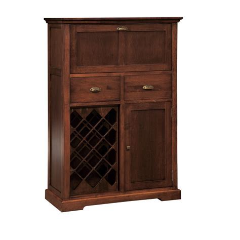 Stanford Small Bar Cabinet   Home Envy Furnishings: Solid
