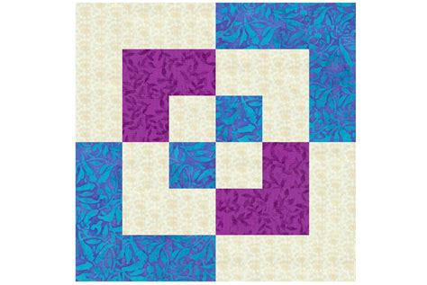 Block In Block Quilt Pattern by Easy 12 Quot Bento Box Quilt Block Pattern