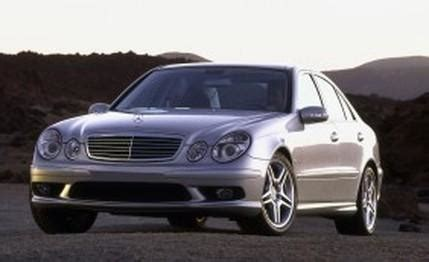 mercedes benz e55 amg first drive review car reviews