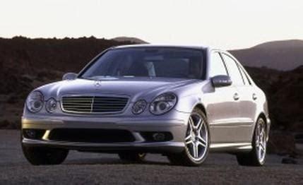 mercedes benz e55 amg first drive review car reviews