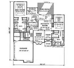 one story floor plans with two master suites house plans with two master bedrooms house plans with 2