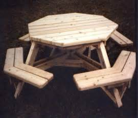 Wood Octagon Picnic Table Plans by Simple Wood Projects Plans Discover Woodworking Projects