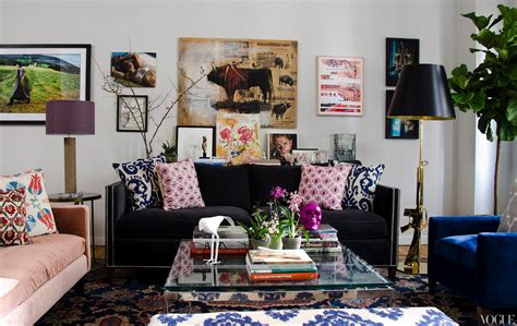 Mismatched Living Room Furniture by The Sophisticate July 2012