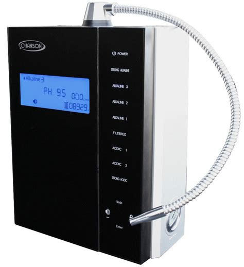 best water ionizer chanson miracle max counter top water ionizer m a x black