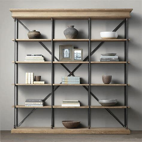 living room display shelves