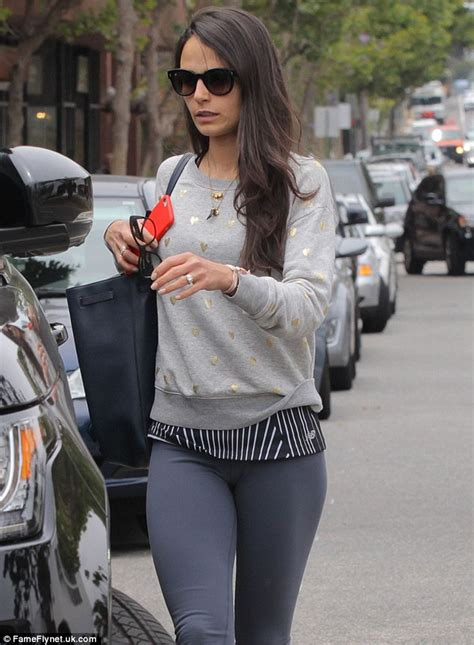 fast and furious 8 bollywood actress jordana brewster in flattering cropped leggings following