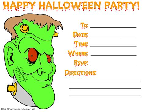 printable halloween party invitations print halloween printable printable halloween party invitations