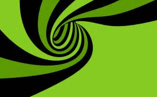 Lime Green And Black Wallpaper