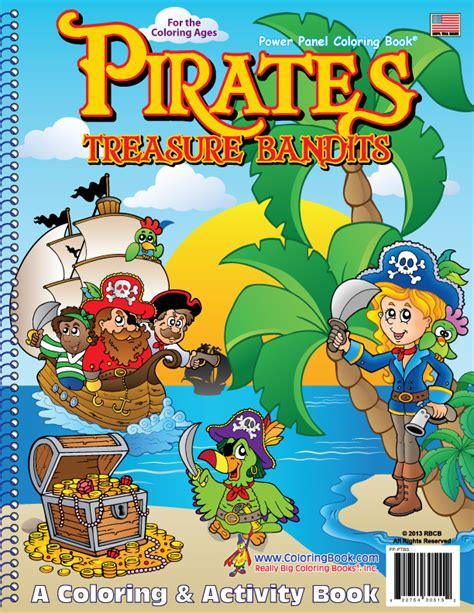 pirate picture books coloring book publishers treasure bandits
