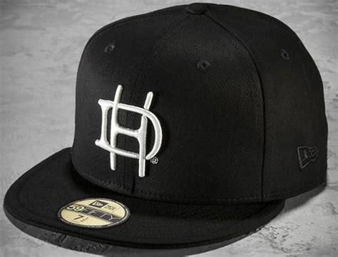 s h d monogram 59fifty baseball cap by harley davidson